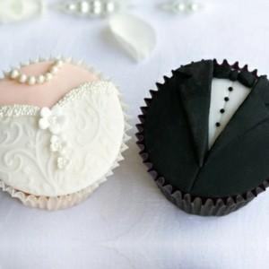 Hochzeits Cupcakes - wunderschöne Beispiele!