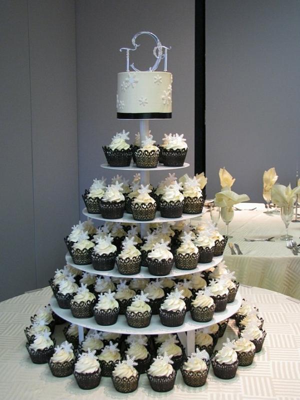 ... Cupcakes Wunderschne Beispiele Gedacht Für Hochzeitstorte Cupcakes