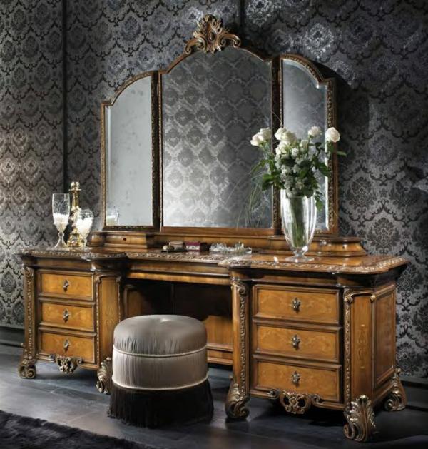 hollywood schminktisch zu hause 42 coole ideen. Black Bedroom Furniture Sets. Home Design Ideas
