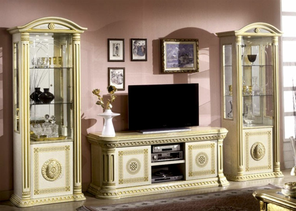 wohnzimmer italienisches design. Black Bedroom Furniture Sets. Home Design Ideas