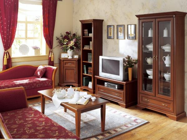 Wohnzimmer tapeten landhausstil m belideen - Tapeten landhausstil wohnzimmer ...