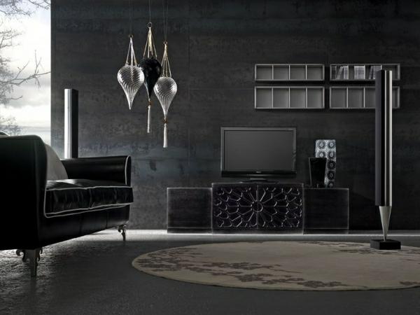 Italienische Wohnzimmer Sehr Dunkel Aussehen