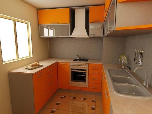 Schränke-in-Farbe-Orange