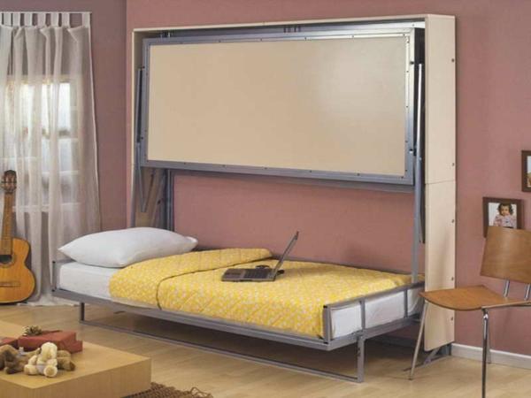 jugendzimmer mit schrankbett sehen cool aus. Black Bedroom Furniture Sets. Home Design Ideas
