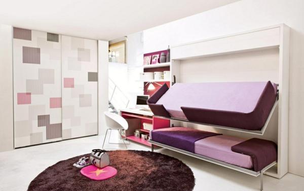 Jugendzimmer mit schrankbett sehen cool aus for Jugendzimmer bett