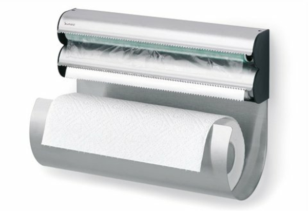 küchenrollenhalter-für-wand-aus-eisen - weißer hintergrund