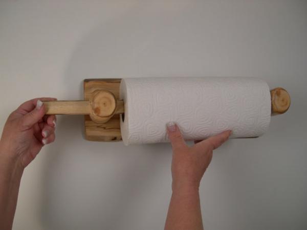 Küchenrollenhalter für Wand - 20 super Modelle! - Archzine.net