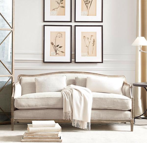 kaschmir-bettdecke-sofa-weiß