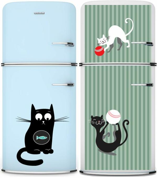 katzen-aufkleber-für-kühlschrank-innovative-idee
