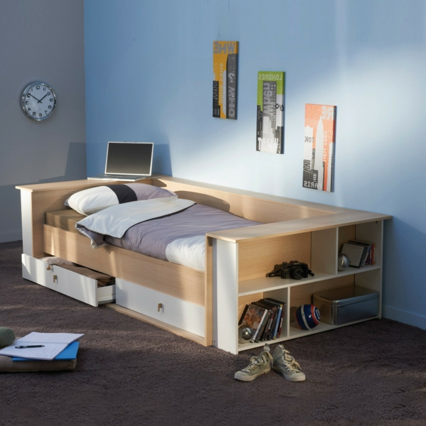 Kinderbett Aus Massivholz U2013 24 Super Designs!
