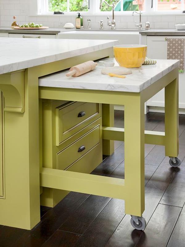 kleine küche einrichten - neue beispiele! - archzine, Kuchen