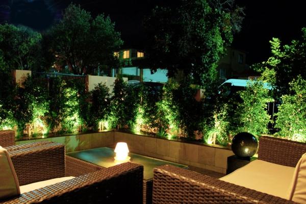 Led - Gartenbeleuchtung für ein romantisches Ambiente! - Archzine.net