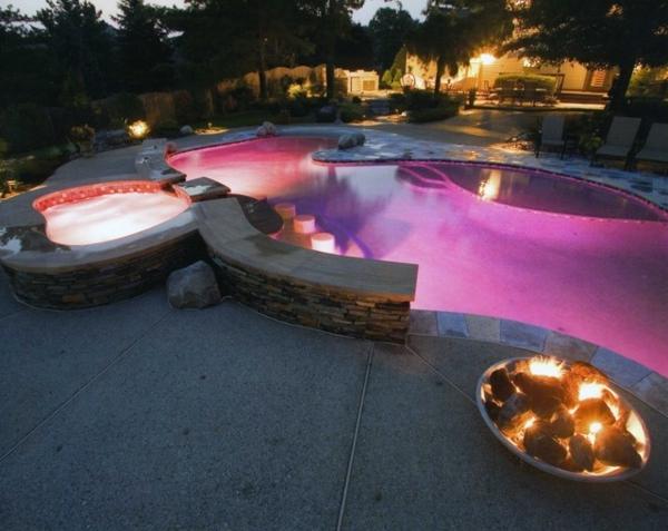 Led gartenbeleuchtung f r ein romantisches ambiente for Led zimmerdeko