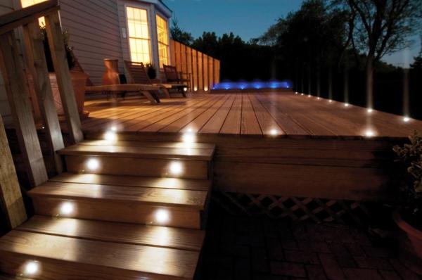 led-gartenbeleuchtung-treppen - super aussehen