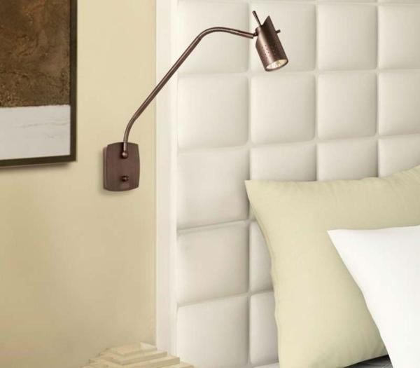 leselampe-für-bett-schlafzimmer-mit-weißer-gestaltung-moderner look