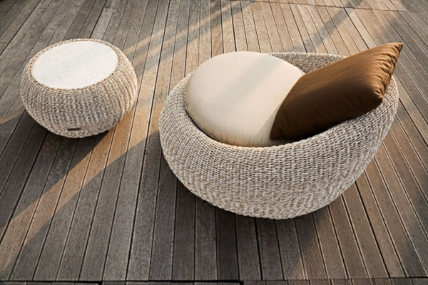 Beautiful Outdoor Sessel Polyrattan Mbelideen Garten Ideen Gestaltung With Polyrattan  Sessel Garten