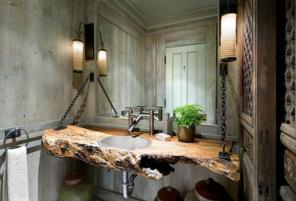 Mittelalter dekoration wird immer im trend sein - Rustikale badezimmer ...