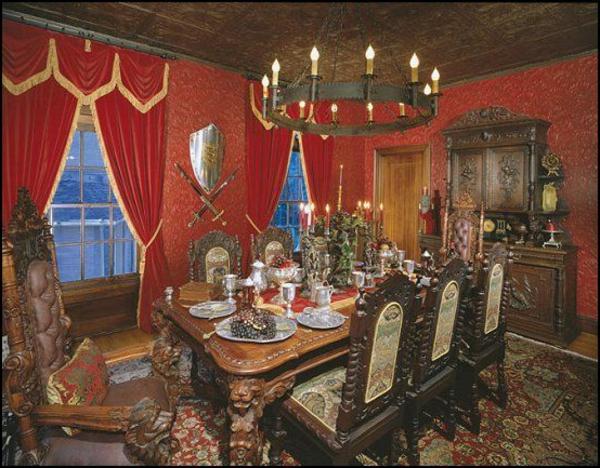 mittelalter dekoration wird immer im trend sein. Black Bedroom Furniture Sets. Home Design Ideas