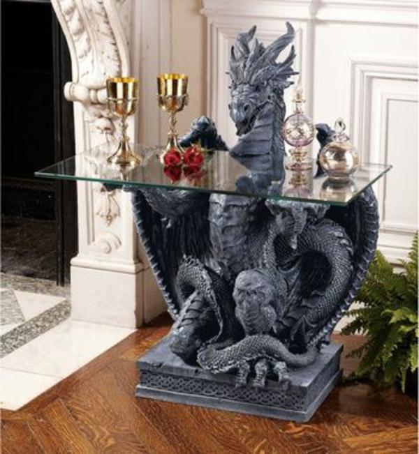 mittelalter-dekoration-tisch-dragon