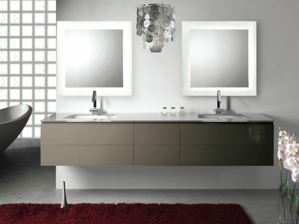 modernes-Badezimmerdesign-Waschtische-mit-Unterschrank