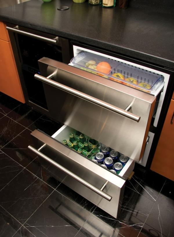 moderne-Küche-Kühlschränke-mit-Schubladen-Design