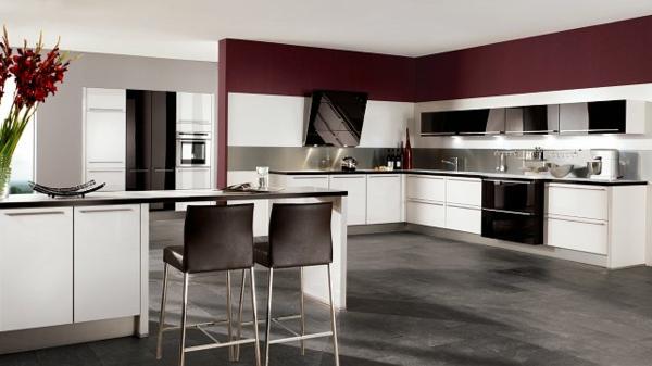paneele kche gestalten m belideen. Black Bedroom Furniture Sets. Home Design Ideas