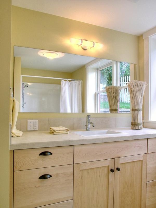 Badspiegel Mit Beleuchtung - Moderne Vorschläge - Archzine.net Modernes Badezimmer Designer Badspiegel