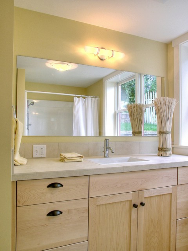Warme Farben Bedeutung : Helle badezimmer beleuchtung ~ Modernes Badezimmerdesign