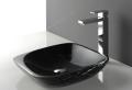 Schwarzes Waschbecken für das Badezimmer