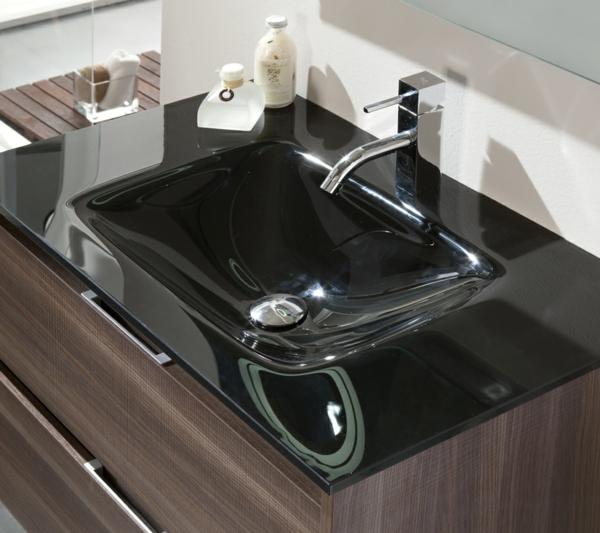 originelles-design-waschbecken-schwarz