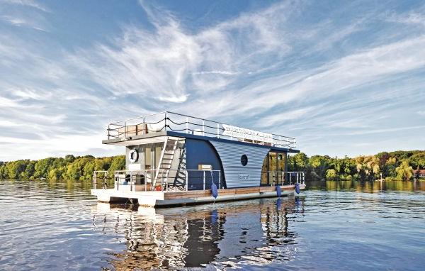 Hausboot-moderne-Architektur-ferienhaus