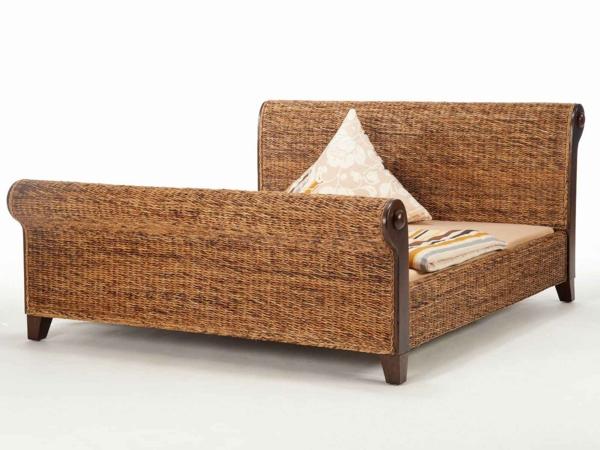 natürliche-Materialien-Bananenblatt-Bett-Schlafzimmer