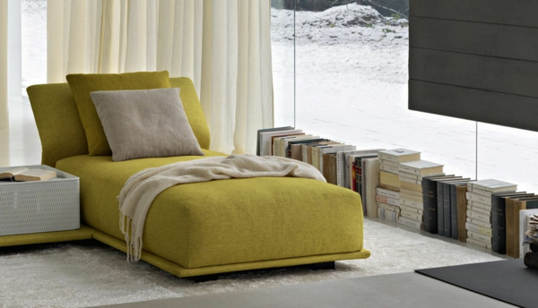lounge-Chair-olivgrüne-Farbe