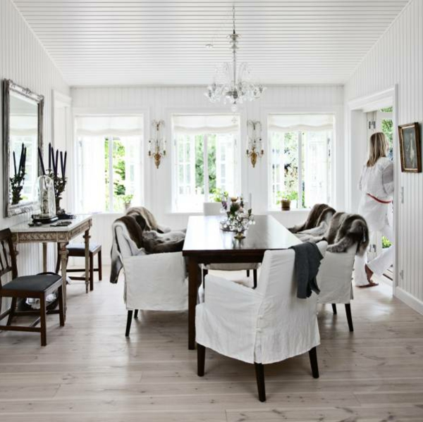 Schön Nordische Mode Bei Der Zimmergestaltung Elegantes Esszimmer Im