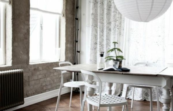 nordische-mode-bei-der-zimmergestaltung-schönes-esszimmer