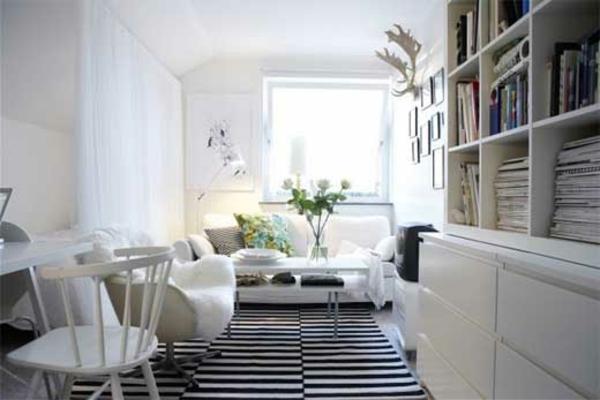 nordische mode bei der zimmergestaltung schlichte farbtnungen - Nordische Wohnzimmer