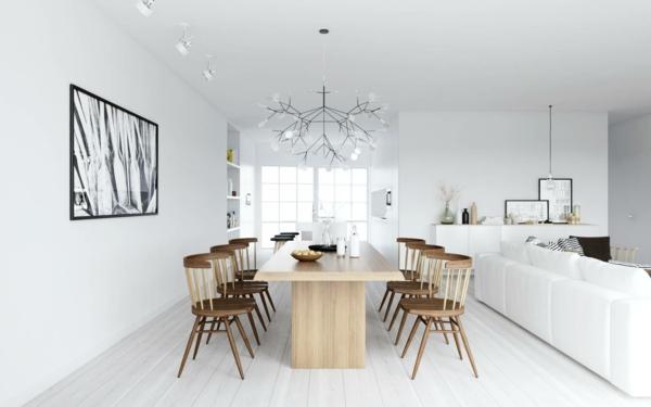 nordische-mode-bei-der-zimmergestaltung-weiße-farbe