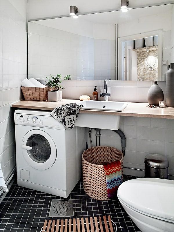 Nordische Mode Bei Der Zimmergestaltung Wunderschönes Badezimmer