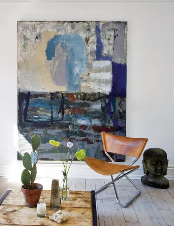 nordische-mode-bei-der-zimmergestaltung- kaktus auf dem tisch