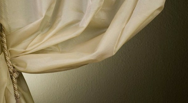 Taupe Farbe : organza-gardinen-taupe-farbe - schöne dekoration