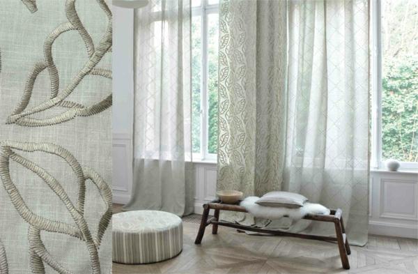 wohnzimmer » vorhänge wohnzimmer weiß - tausende fotosammlung von ... - Vorhange Wohnzimmer Weis