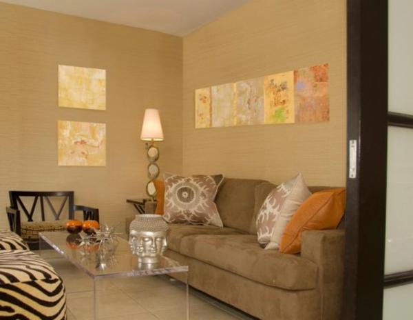 orientalische dekoration f rs wohnzimmer 33 fotos On dekoration wohnzimmer fotos