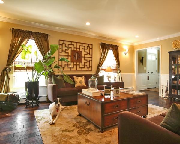 orientalische-dekoration-für-wohnzimmer-braune-elemente