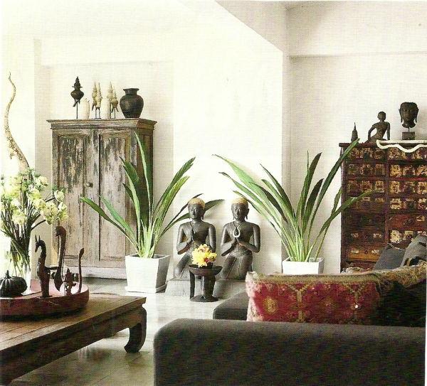 Orientalische dekoration f rs wohnzimmer 33 fotos for Design dekoartikel