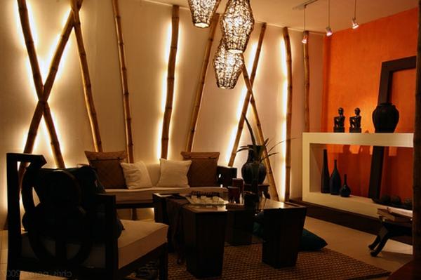 Orientalische dekoration f rs wohnzimmer 33 fotos - Orientalische wandgestaltung ...