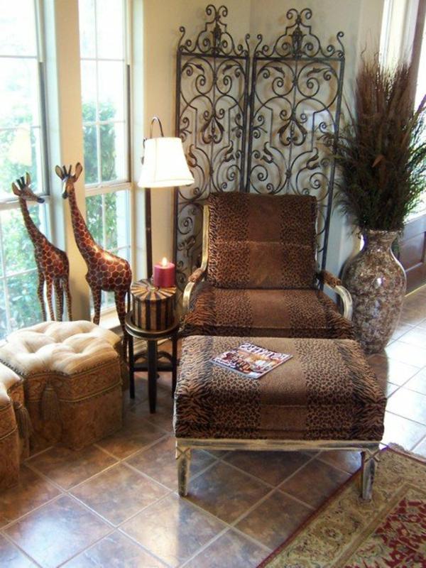 orientalische dekoration f rs wohnzimmer 33 fotos On orientalische sessel