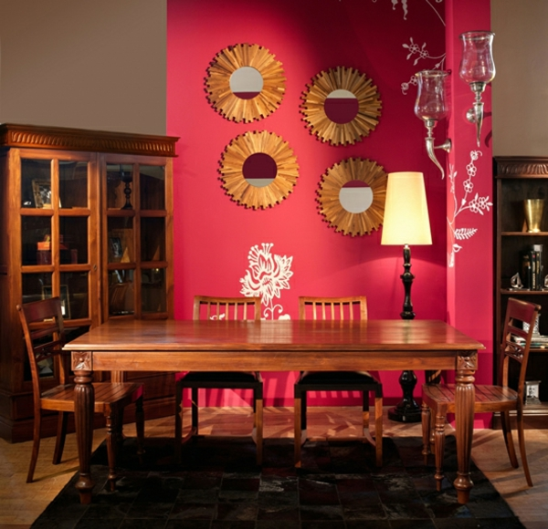 orientalische-dekoration-für-wohnzimmer-kreative-wandgestaltung