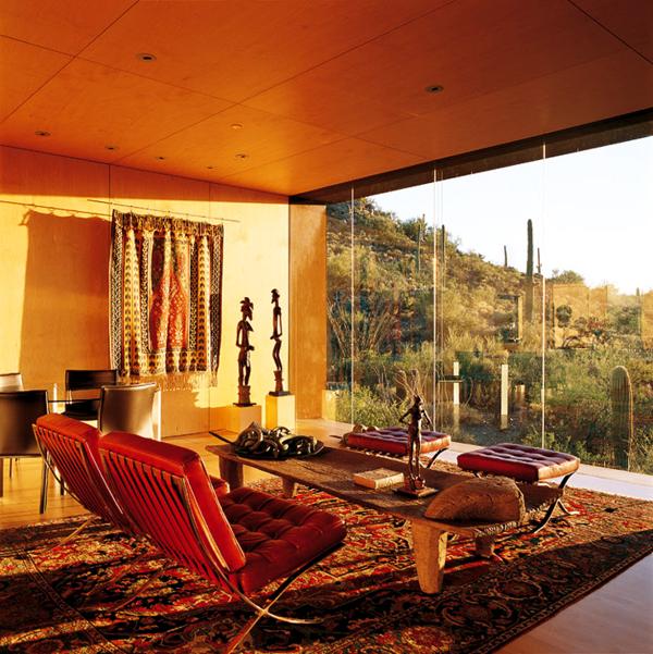orientalische-dekoration-für-wohnzimmer-orange-nuancen