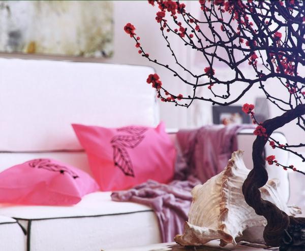 orientalische-dekoration-für-wohnzimmer-rosige-elemente