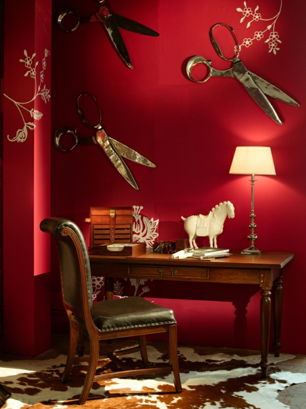 orientalische-dekoration-für-wohnzimmer-rote-farben